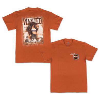 Hendrick Motorsports Whisky River Orange Pin Up T-Shirt
