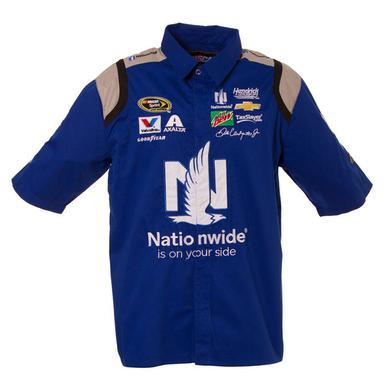 Hendrick Motorsports Dale Jr. #88 NASCAR Cotton Poly Pit Crew Shirt