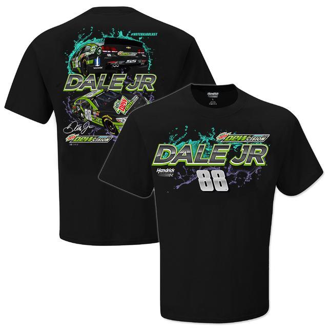 Hendrick Motorsports Dale Jr. #88  Mountain Dew Dewcision T-Shirt