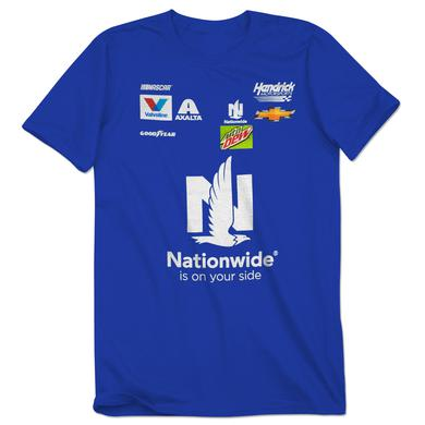 Hendrick Motorsports Dale Jr 2017 Nationwide Uniform T-shirt