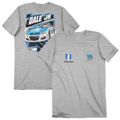 Hendrick Motorsports Dale Earnhardt, Jr. Adult Injector 2-spot Pocket T-shirt - Nationwide