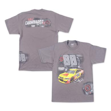 Hendrick Motorsports Dale Earnhardt Jr Axalta Burnout T-shirt