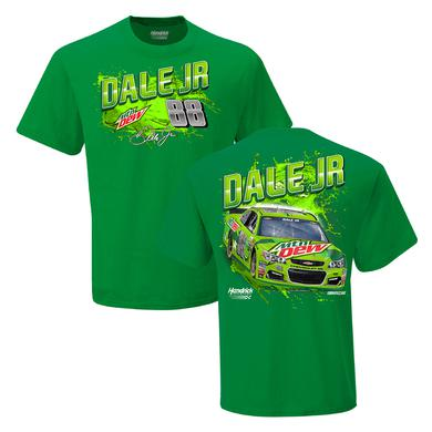 Hendrick Motorsports Dale Jr. #88 Mountain Dew Adult T-Shirt