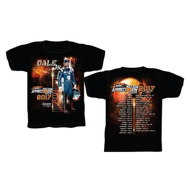 Hendrick Motorsports Dale Jr 2017 Appreci88ion Tour Schedule T-shirt