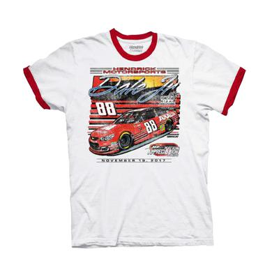 Hendrick Motorsports Dale Jr #88 2017 Homestead/Miami Axalta Ringer T-shirt