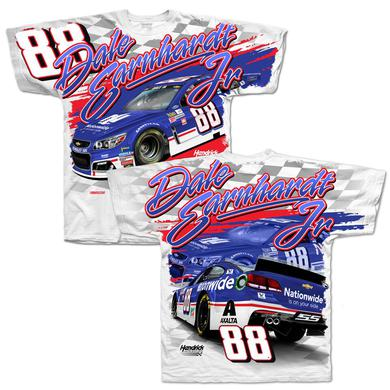 Hendrick Motorsports Dale Earnhardt Jr 2017 #88 Darlington Total Print T-shirt