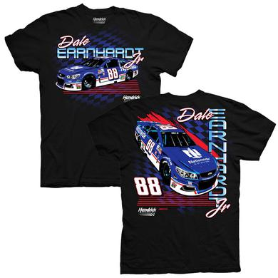 Hendrick Motorsports Dale Earnhardt Jr 2017 #88 Darlington Graphic Car T-shirt