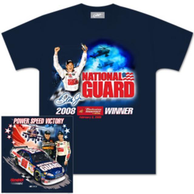 Hendrick Motorsports Dale Jr. Bud Shootout Victory T-Shirt