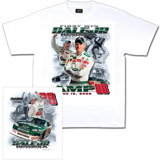 Hendrick Motorsports Dale Jr. #88 AMP First Win Tee