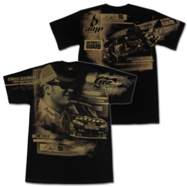 Hendrick Motorsports Dale Jr EXCLUSIVE 2009 Total Print T-Shirt
