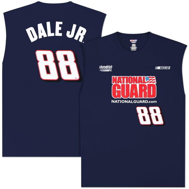 Hendrick Motorsports Dale Jr National Guard Sleeveless T-shirt