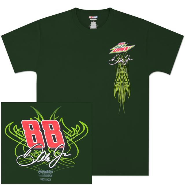 Hendrick Motorsports Dale Jr. Diet Mountain Dew Fan T-shirt