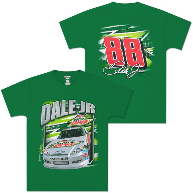 Hendrick Motorsports Dale Jr Diet Mountain Dew Brodie Youth T-shirt