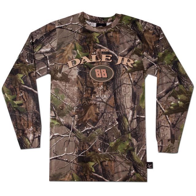 Hendrick Motorsports Dale Jr #88 Realtree Camo Longsleeve T-shirt