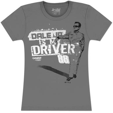 Hendrick Motorsports Dale Jr #88 MtDew Ladies Shadow T-shirt