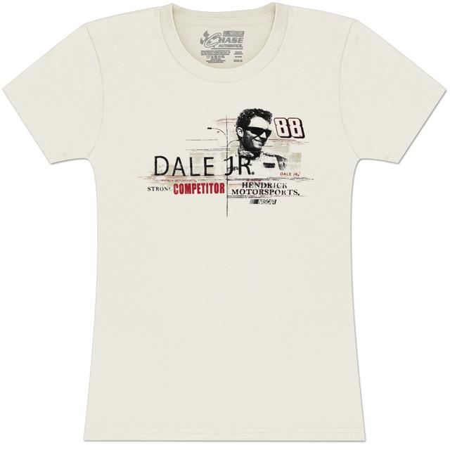 Hendrick Motorsports Dale Jr #88 MtDew Ladies Vintage Speed T-shirt