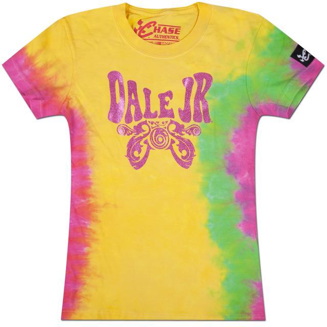 Hendrick Motorsports Dale Jr #88 Girls Tie Dye T-shirt