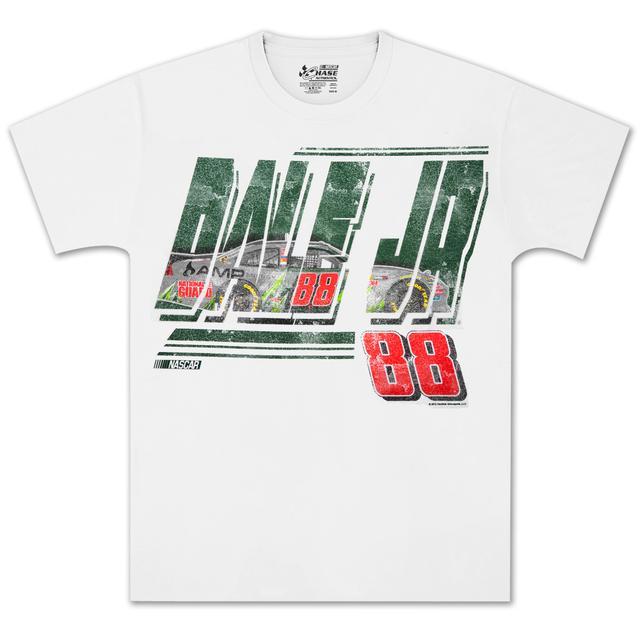 Hendrick Motorsports Dale Jr #88 MtDew Straightaway T-shirt
