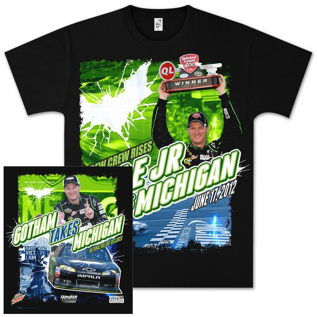 Hendrick Motorsports Dale Jr 2012 Michigan WIN T-shirt