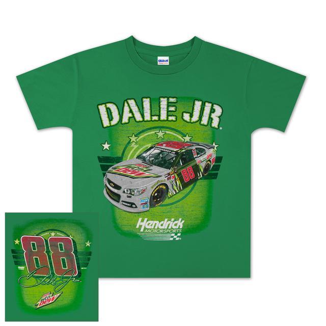 Hendrick Motorsports Dale Jr #88 Diet Mt Dew Speed Boss Youth T-shirt