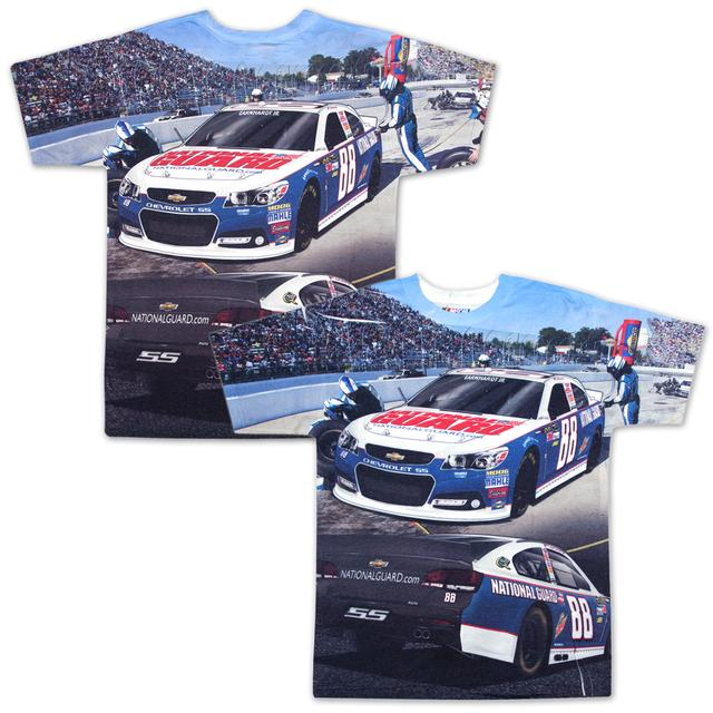 Hendrick Motorsports Dale Jr All Over Sublimated T-shirt