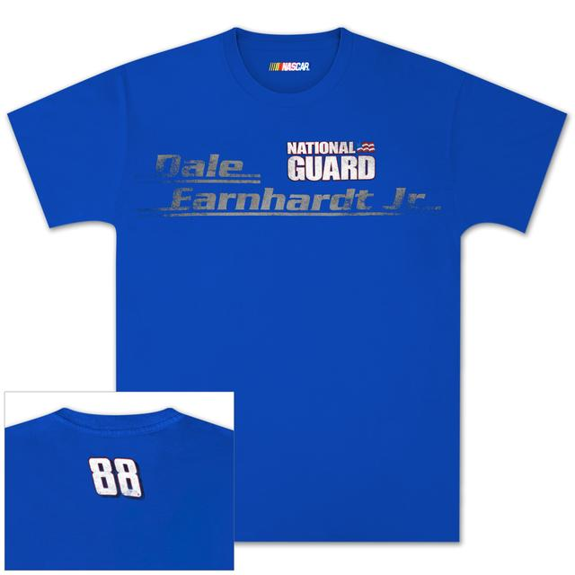 Hendrick Motorsports Dale Jr #88 National Guard Vintage Stripe T-shirt