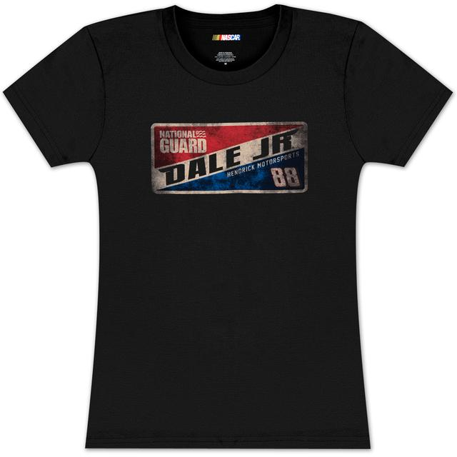 Hendrick Motorsports Dale Jr #88 Ladies Vintage Sign T-shirt