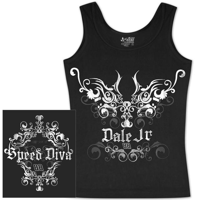 Hendrick Motorsports Dale Jr #88 Ladies Speed Diva Tank