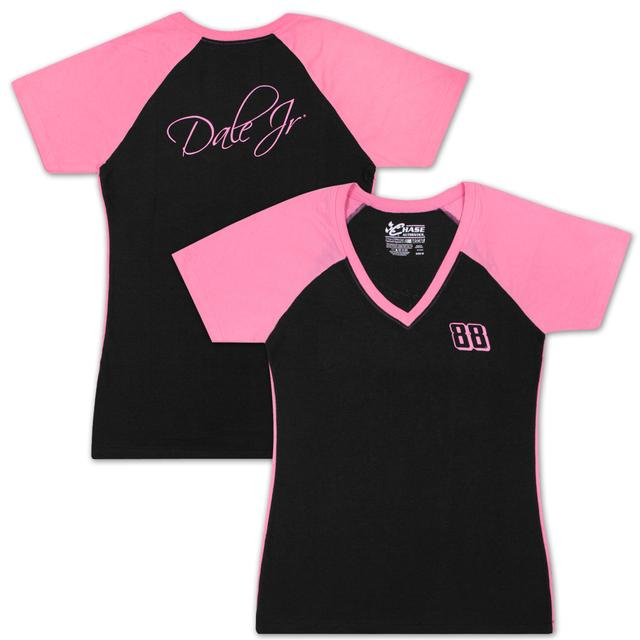 Hendrick Motorsports Dale Jr #88 Ladies Interval Raglan T-shirt