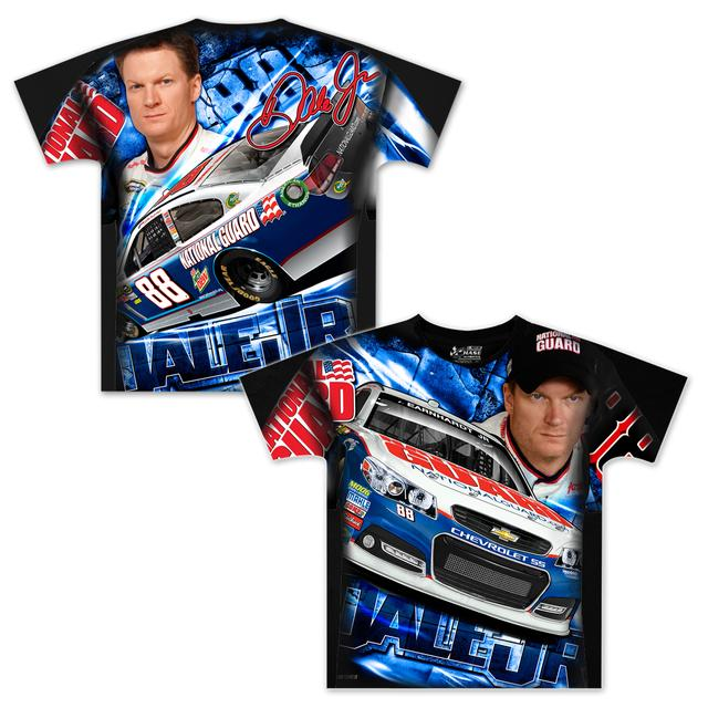 Hendrick Motorsports Dale Jr #88 Youth Aerodynamic Sublimated T-shirt