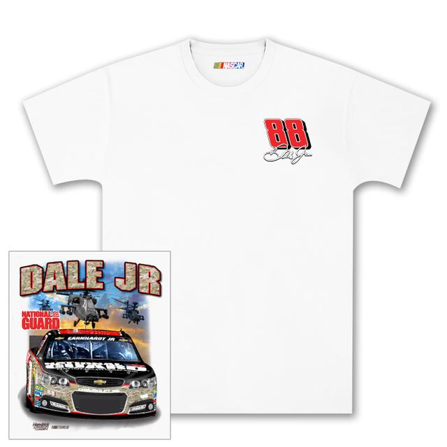 Hendrick Motorsports Dale Jr #88 National Guard Camo Charlotte T-shirt