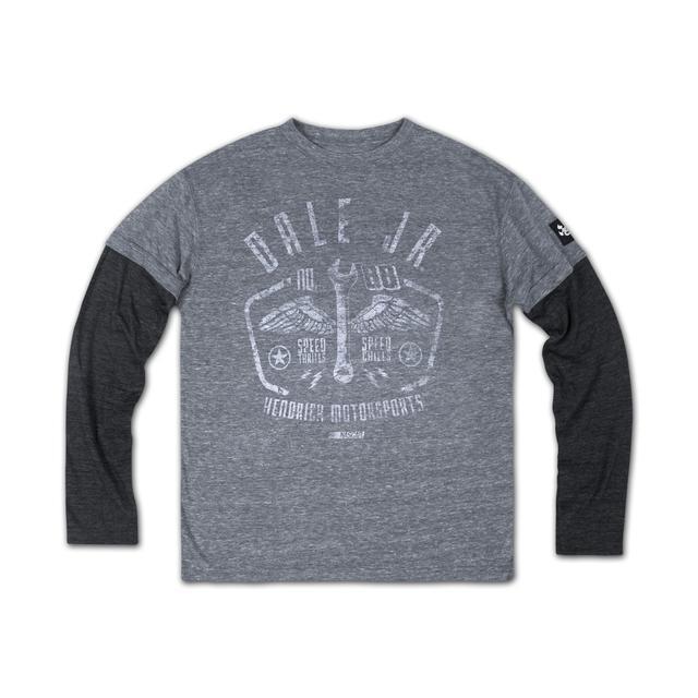 Hendrick Motorsports Dale Jr Youth Boy's Splitter T-shirt