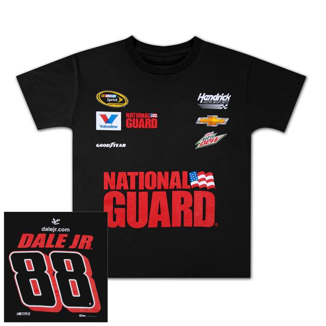 Hendrick Motorsports Dale Jr. #88 Mt. Dew / National Guard Youth Uniform T-shirt