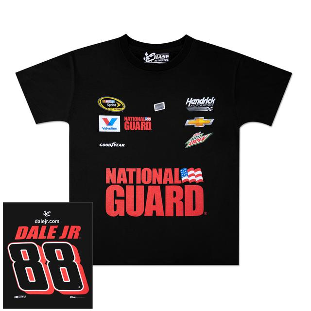 Hendrick Motorsports Dale Jr. National Guard Youth Uniform T-shirt