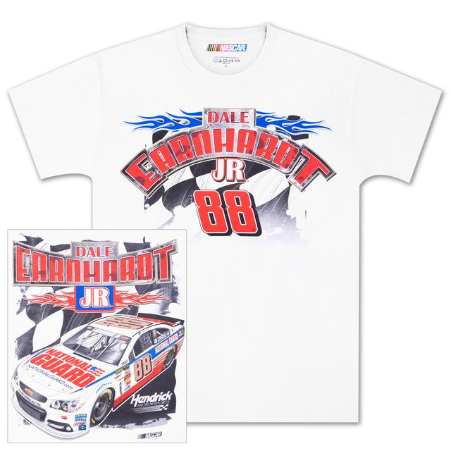 Hendrick Motorsports Dale Jr #88 Loud and Proud T-shirt