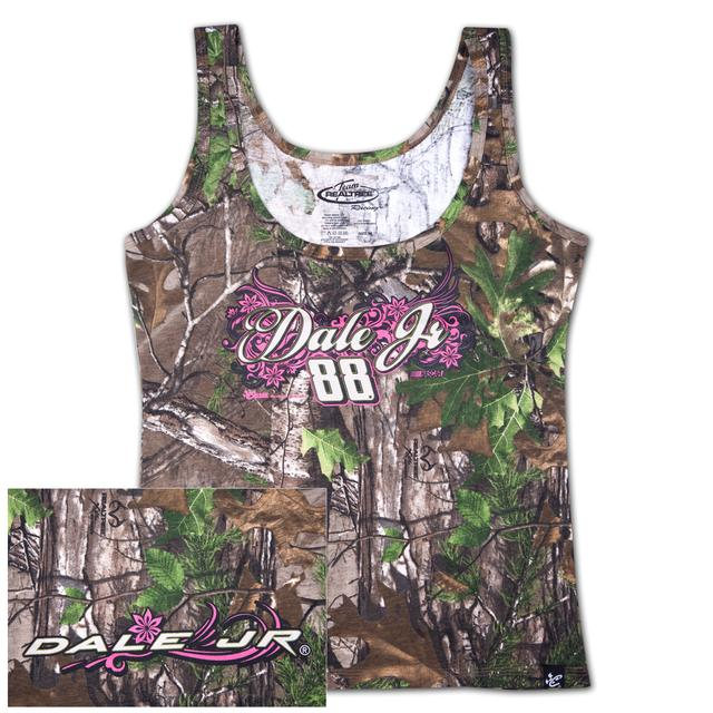 Hendrick Motorsports Dale Jr. #88 Ladies Realtree Xtra Green Decoy Tank