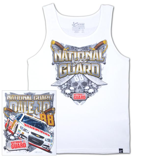 Hendrick Motorsports Dale Jr #88 National Guard Heritage Tank