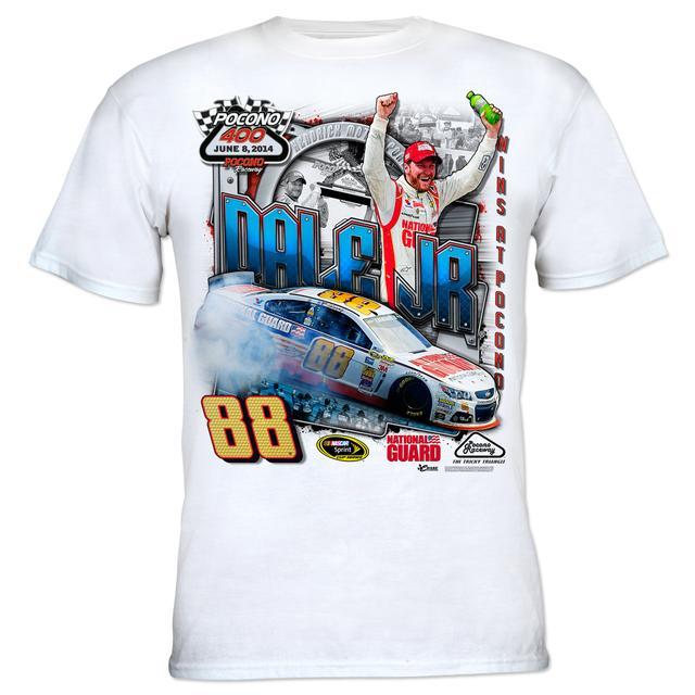 Hendrick Motorsports Dale Earnhardt, Jr. #88 2014 Pocono 400 Race Winner T-shirt PRE-ORDER
