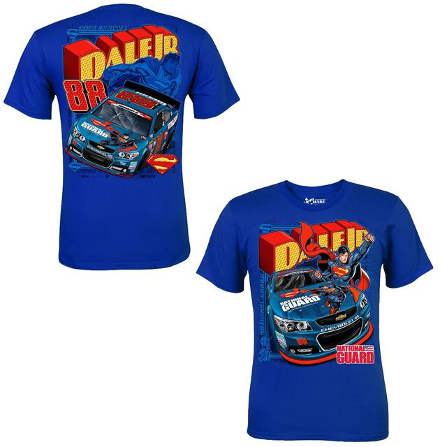 Hendrick Motorsports Dale Jr. - 2014 Adult Superman Tee