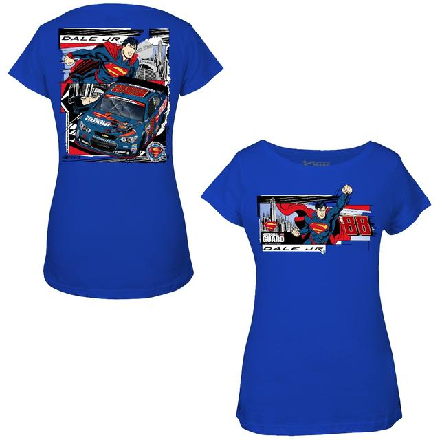 Hendrick Motorsports Dale Jr. - 2014 Ladies Superman Tee