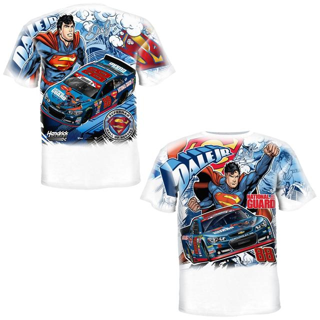 Hendrick Motorsports Dale Jr. - 2014 Superman Total Print Tee