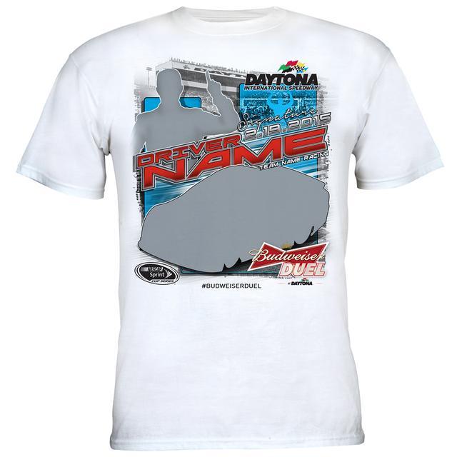 Hendrick Motorsports Dale Jr. #88 2015 BUDWEISER DUEL Race Winner T-shirt