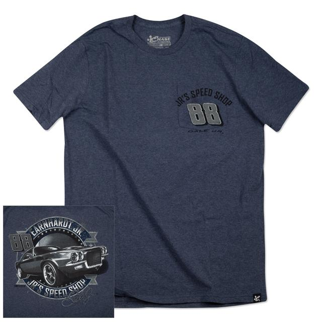 Hendrick Motorsports Dale Jr. 2015 Chase Authentics Adult Vintage Pocket Tee