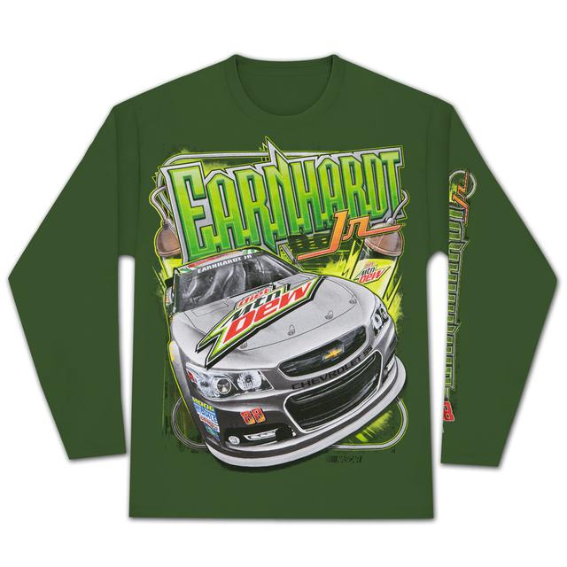 Hendrick Motorsports Dale Jr. 2015 Chase Authentics Adult Sheet Metal Longsleeve T-shirt