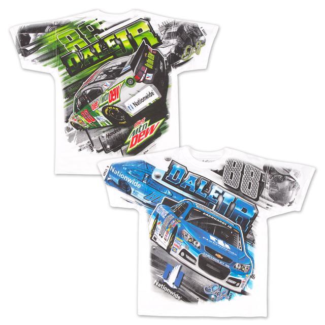 Hendrick Motorsports Dale Jr. Adult Total Print T-shirt
