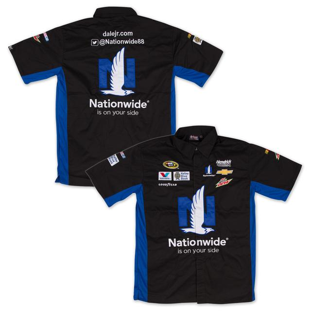 Hendrick Motorsports Dale Jr. 2015 Official Nationwide Pit Shirt