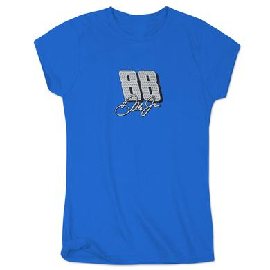 Hendrick Motorsports Dale Earnhardt, Jr. #88 Ladies Rapid T-Shirt