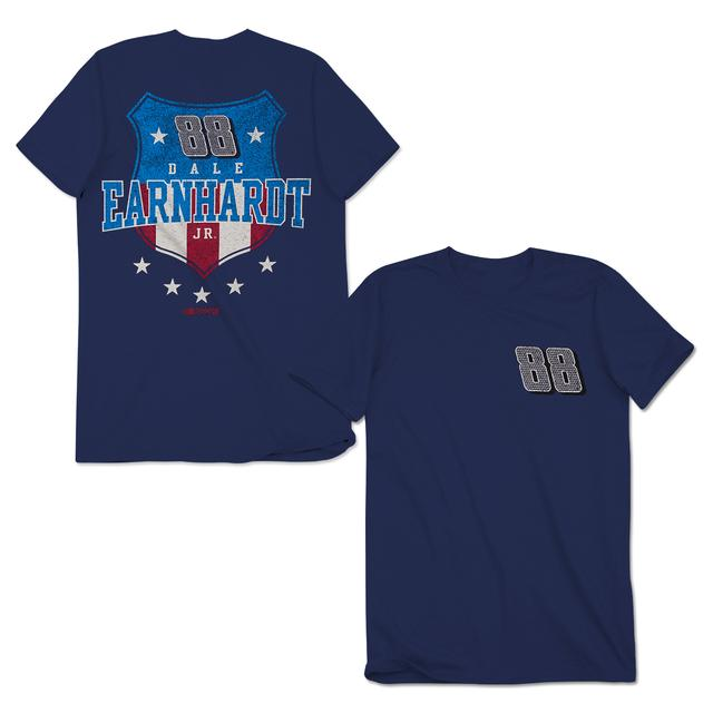 Hendrick Motorsports Dale Jr. #88 USA Shield T-Shirt