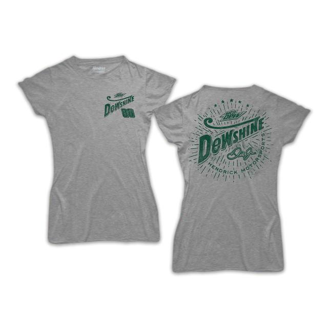 Hendrick Motorsports Dale Jr. DEW Shine Ladies Graphic T-Shirt