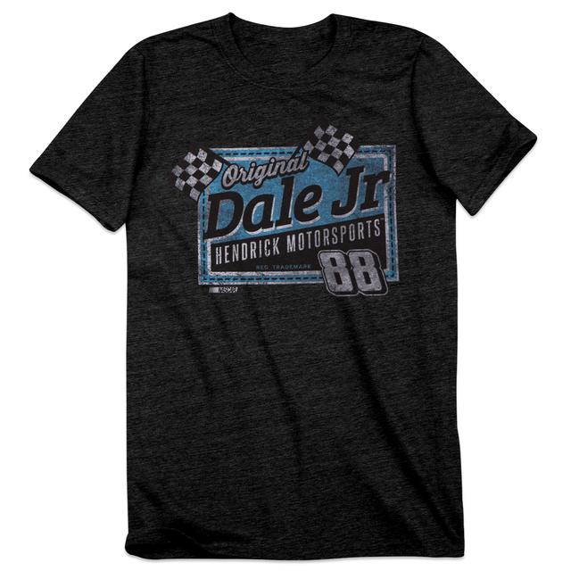Hendrick Motorsports Dale Jr. #88 Men's Vintage Finish Line T-Shirt